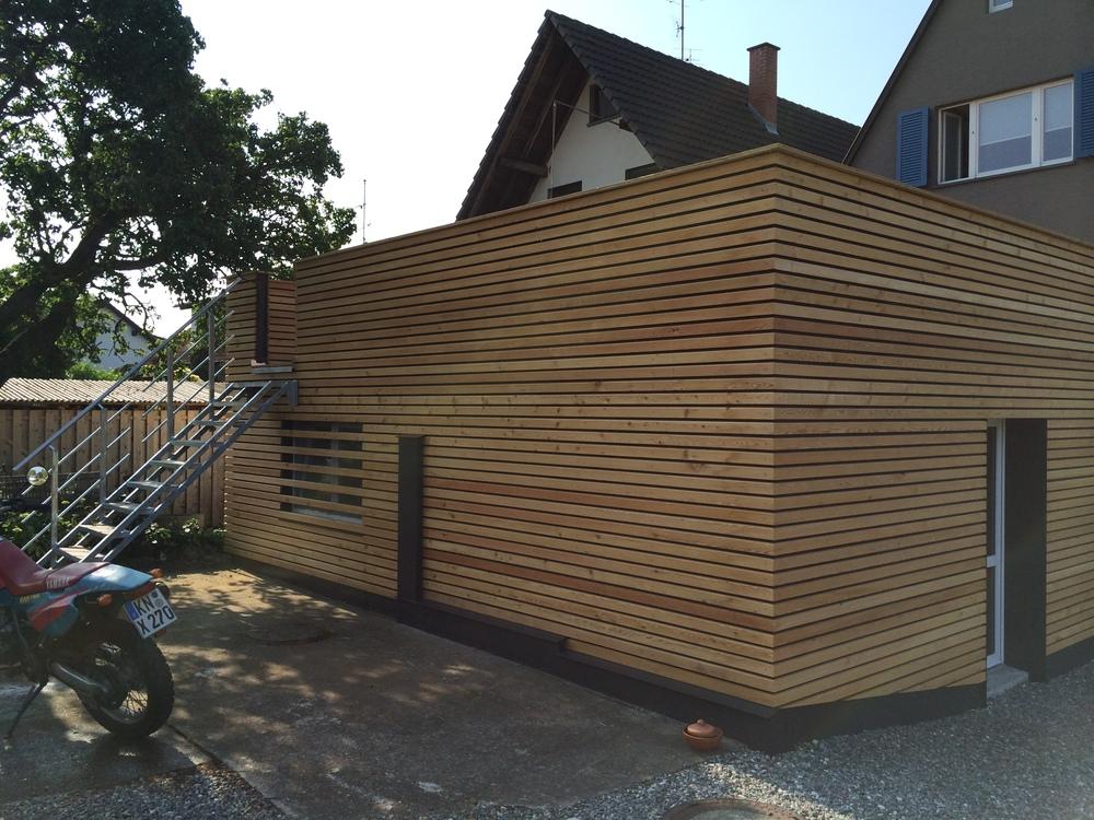 Lärche Holzverkleidung Reichenau