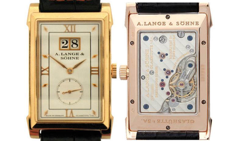 A. Lange & SöhneCabaret ref 107.031,18k Red Gold