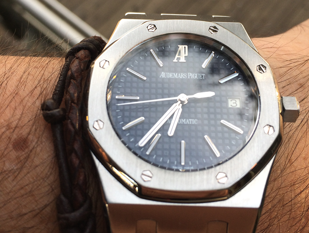 retrospective review ap royal oak 15300 wristtimes