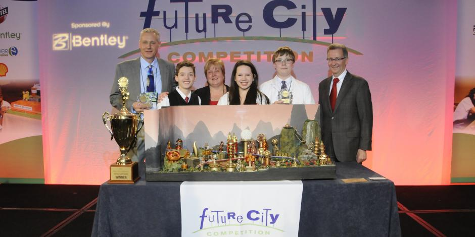 REIGNING CHAMPS: The 2013-14 competition was won last February by students from St. John Lutheran School in Rochester, Michigan. Their city?  'Gongping', which means 'fair' in Chinese.