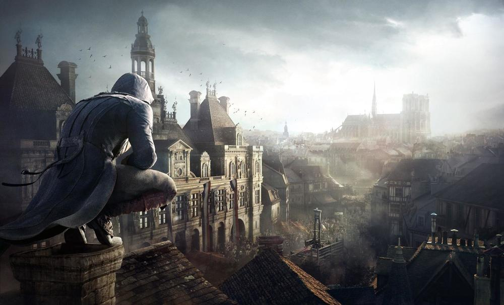 "Still image from Unity video game ""Assassin's Creed"""