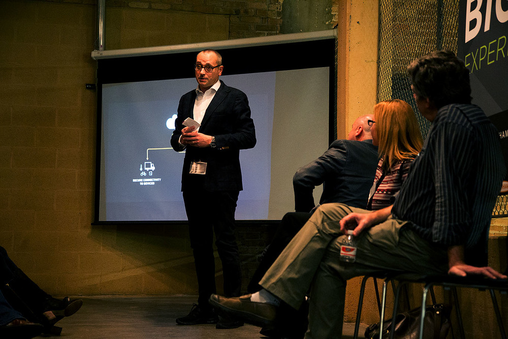 Euro Beinat of  Zebra Technologies discusses designs for the 'internet of things'