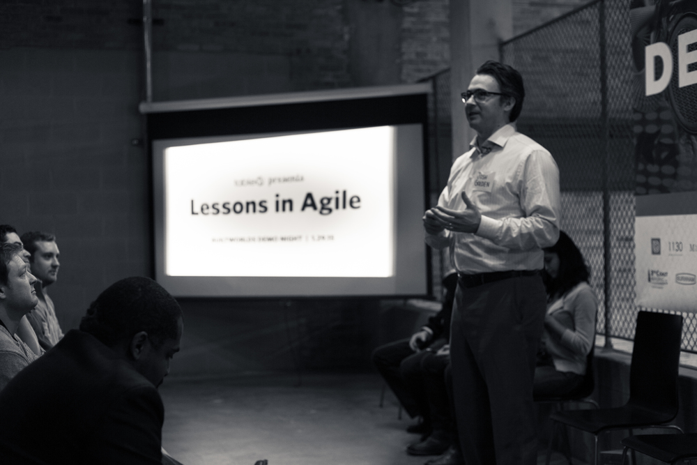 Table XI's Josh Golden spoke on the importance of being agile and the need for startups to be nimble enough to learn quickly from inevitable mistakes.