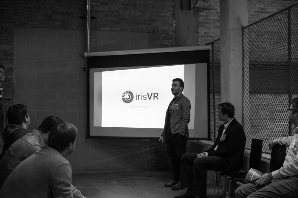 Amr Thameen, 3D specialist with IrisVR, spoke about his firm's visionary work with BIM and Oculus Rift.