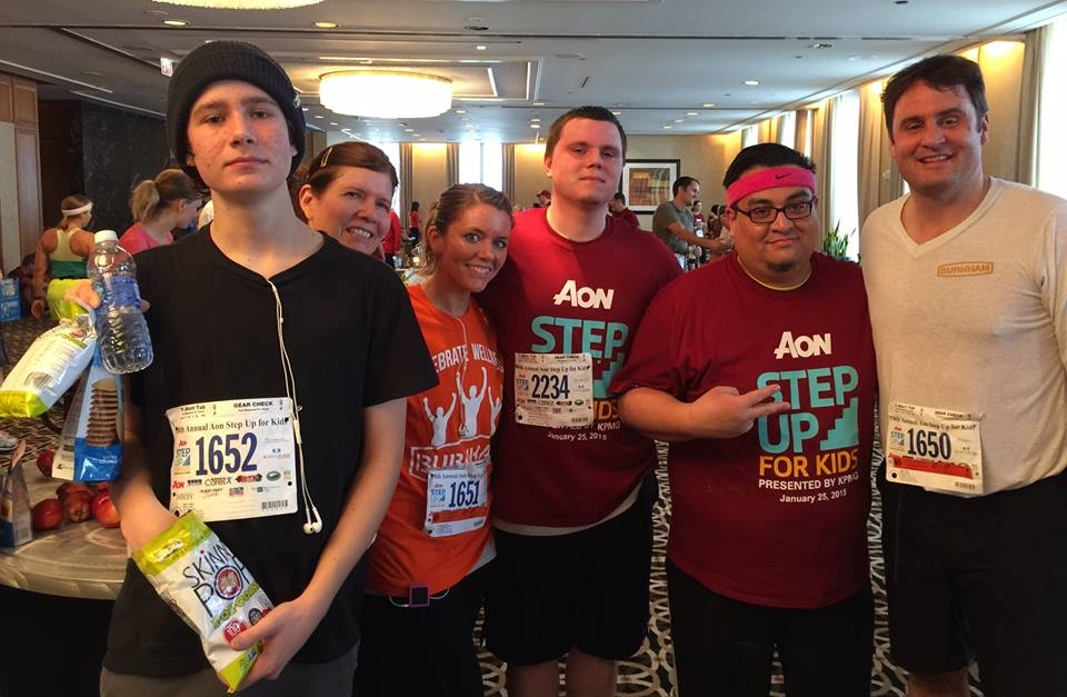 BURNHAM CARES: Last month, Burnham employees in Chicago accepted the Aon Step Up for Kids challenge! They climbed 80 floors to the top of the Aon Center, one of Chicago's tallest buildings. All proceeds benefited children and families at the Ann & Robert H. Lurie Children's Hospital of Chicago.