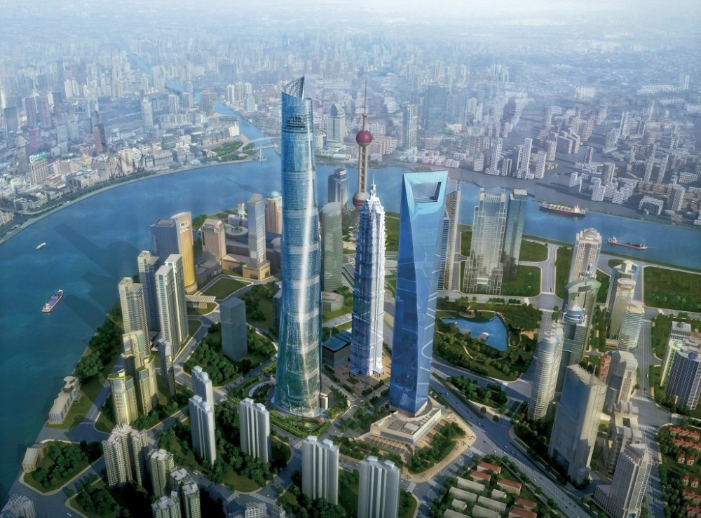 Started in 2009 and designed by Gensler, the 128-story Shanghai Tower will be the world's third tallest building when it opens later this year. Thornton-Tomasetti is the structural engineer. (Gensler image)
