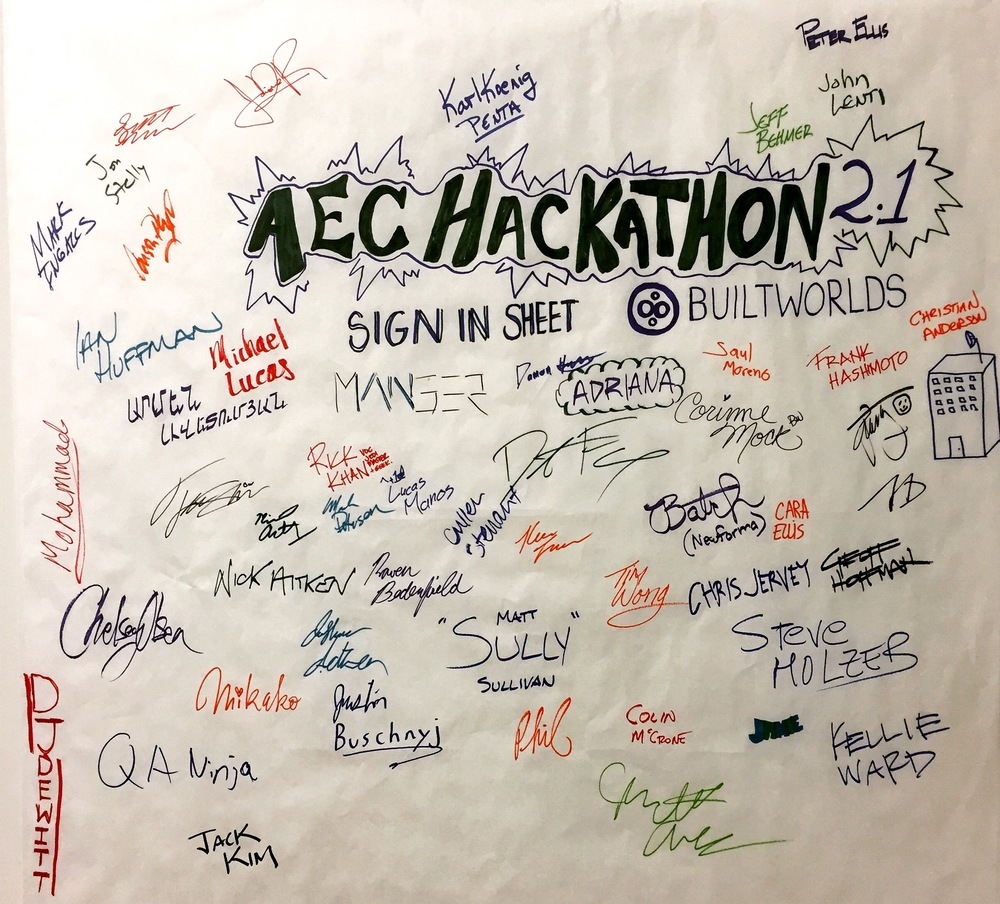 Our sign-in wall... Can you find John Hancock?