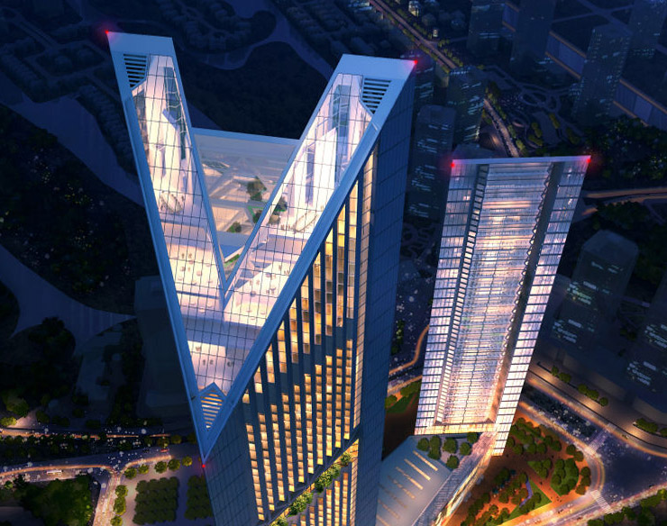 Hanoi Hilton? No, but a hotel will be part of the new VietinBank Towers complex, designed by Foster + Partners.