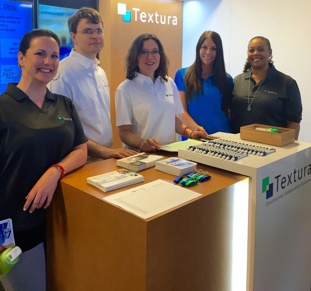 Smiles by Textura: Out in force, recruiting tech stars!