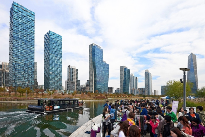 South Korea's Songdo International Business District has drawn big-name design talent from around the world.