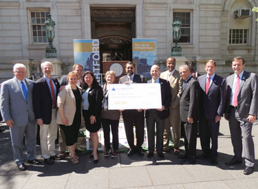 Hartford.Health.Works collected its big check in May.