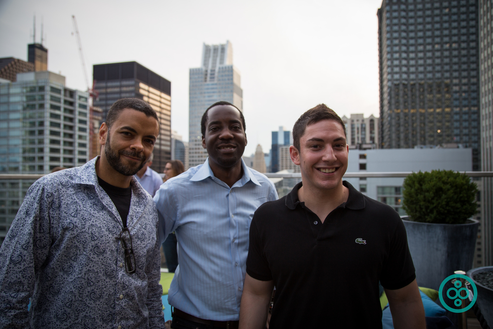 Kelsey Taylor  of  Engage Civil ;  Adebayo Onigbanjo  of  Zebra Technologies ; and  Jacob Bronstein  of  BuiltWorlds
