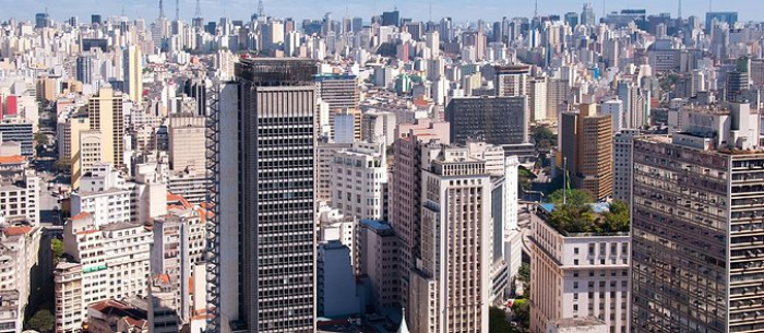 Thick & thirsty: São Paulo, Brazil, is still in the midst of a record drought, thanks to consecutive years of diminished rain fall. But the megacity's poorly maintained infrastructure has worsened the problem via notoriously leaky pipes.