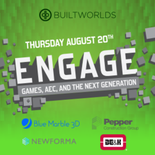 THIS WEEK @ BUILTWORLDS: Can't get enough of this topic? Come see 'live' presentations and interactive Q&A on Thursday evening. For ticket info, click here.
