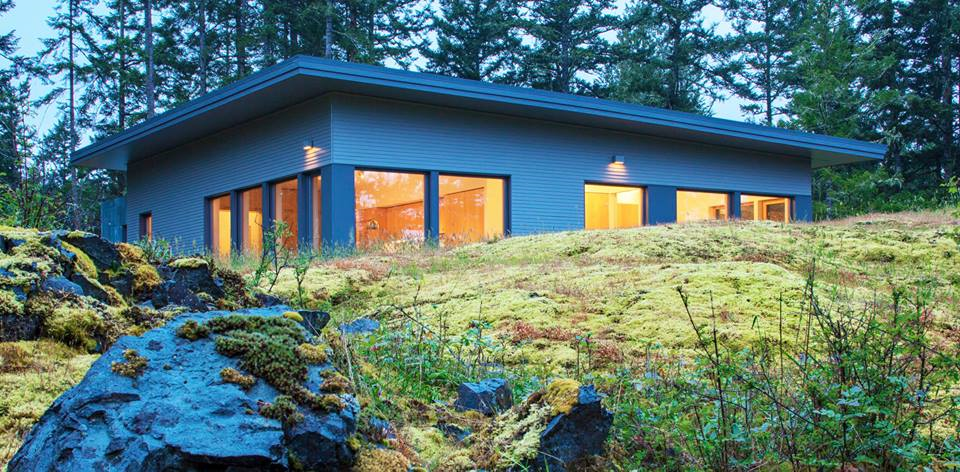 Island Passive House in Shaw WA captured second place in the single-family housing category. (See below)