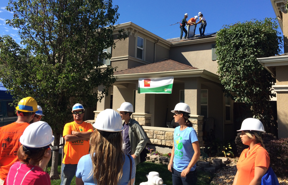 Solarthon 2015: Burnham Solar installers last week celebrated the San Francisco Bay Area's 10th Annual Solarthon. Rest assured, the trio on the roof are ALL wearing safety harnesses!