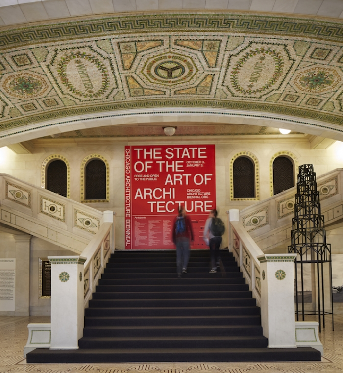 BIENNIAL HQ: The three-month-long event is based out of the Chicago Cultural Center. (Photo by Steve Hall.)