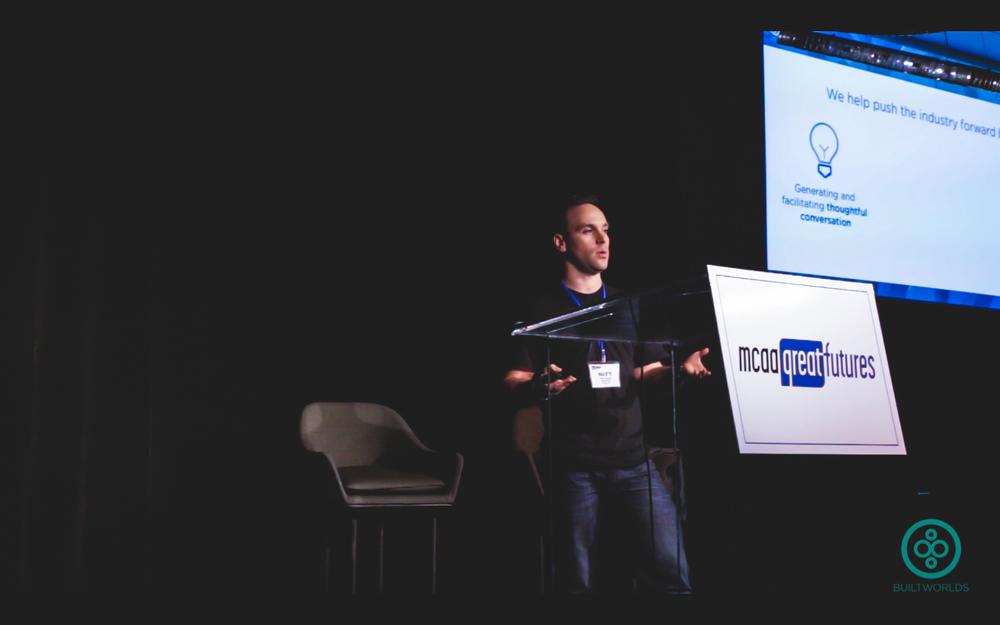 BW's Matt Abeles introduced the Tech Test Drive on Thursday evening.
