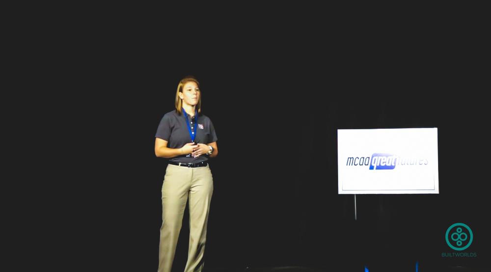 Jill Vande Boom, MCAA Student Chapter,Milwaukee School of Engineering