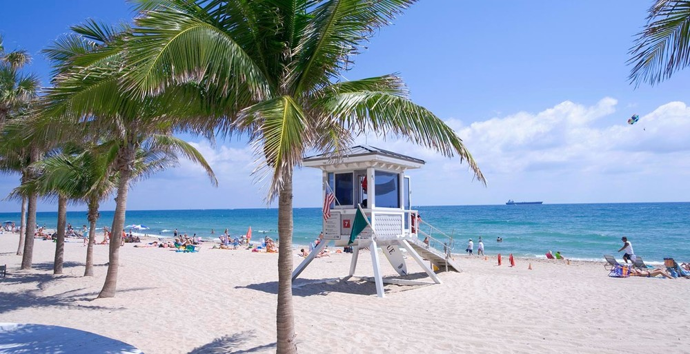 Ahh, Fort Lauderdale... Life at e-Builder may not always be a day at the beach, but surely some days are.