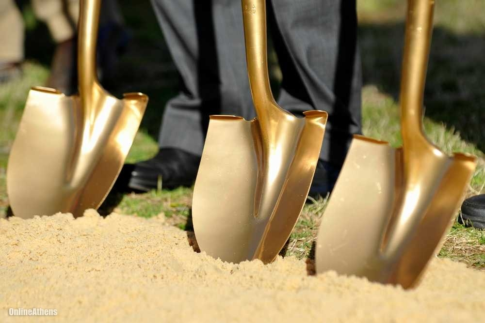 Gold diggers: The more shovels there are digging for answers early on, the bigger the smiles at the groundbreaking.