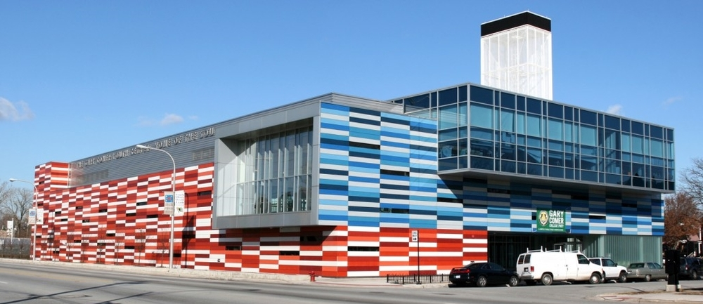 Southside street cred: Ronan's colorful youth center won high praise and plenty of awards after it opened in 2006.