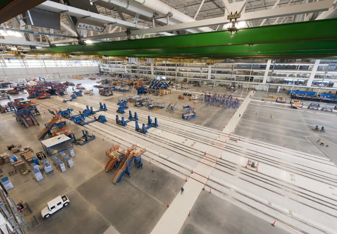 Safe site: Millions of hours of incident-free work at massive Boeing 787 plant in Charleston earned industry accolades.