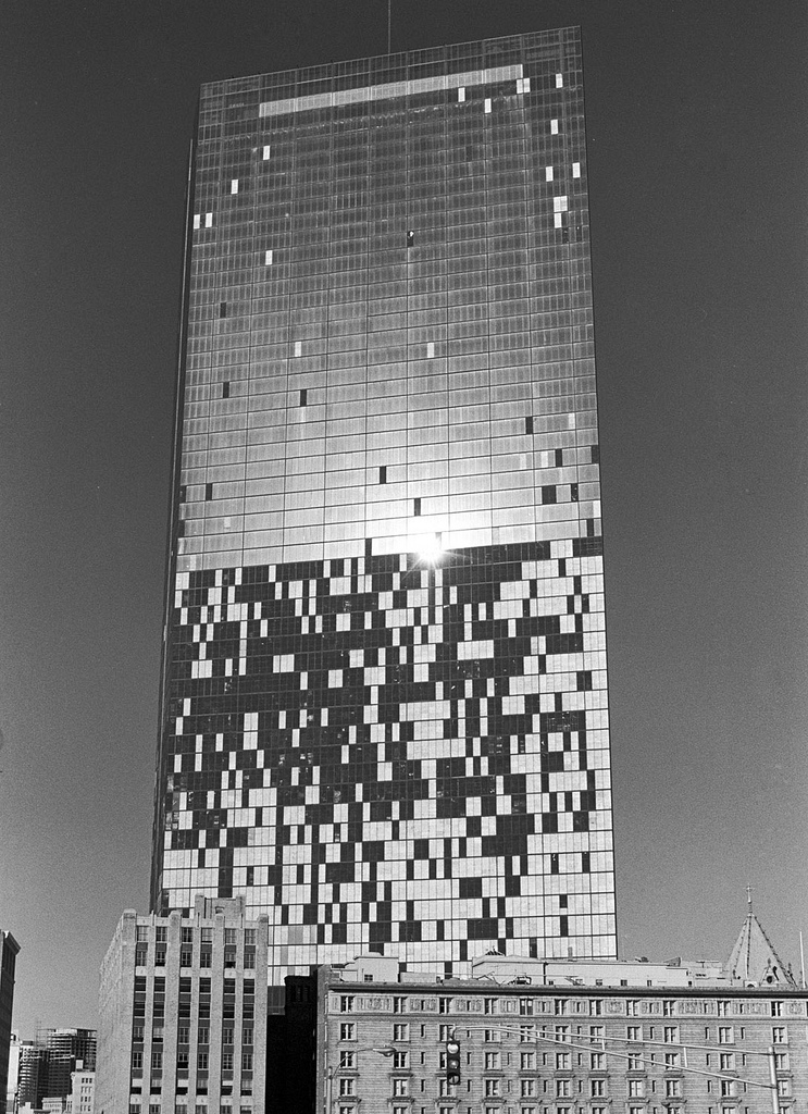 Boston legal:John Hancock Building Windowsfell out in bunches during and after construction in the early 1970s.