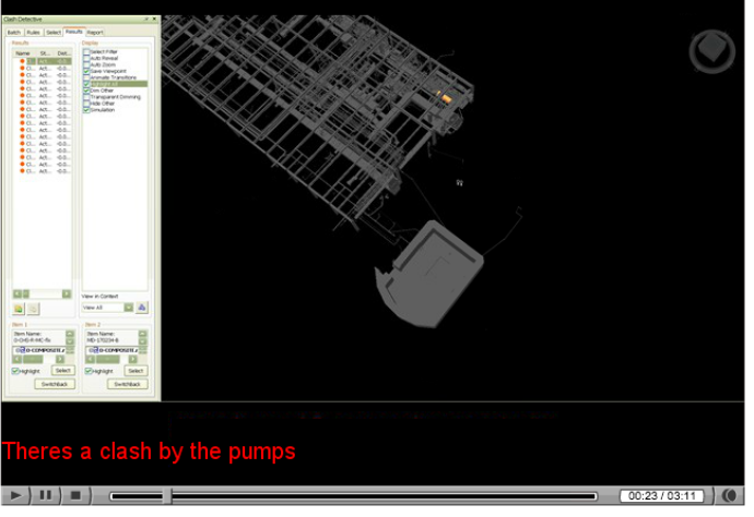 MEP Detailing: To see video of the BIM capabilities of the author's firm, Murray Company, click here.