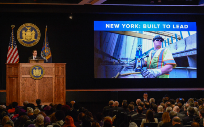 NY State of Mind: Cuomo laid out an ambitious agenda that reminded some of Robert Moses and Nelson Rockefeller.