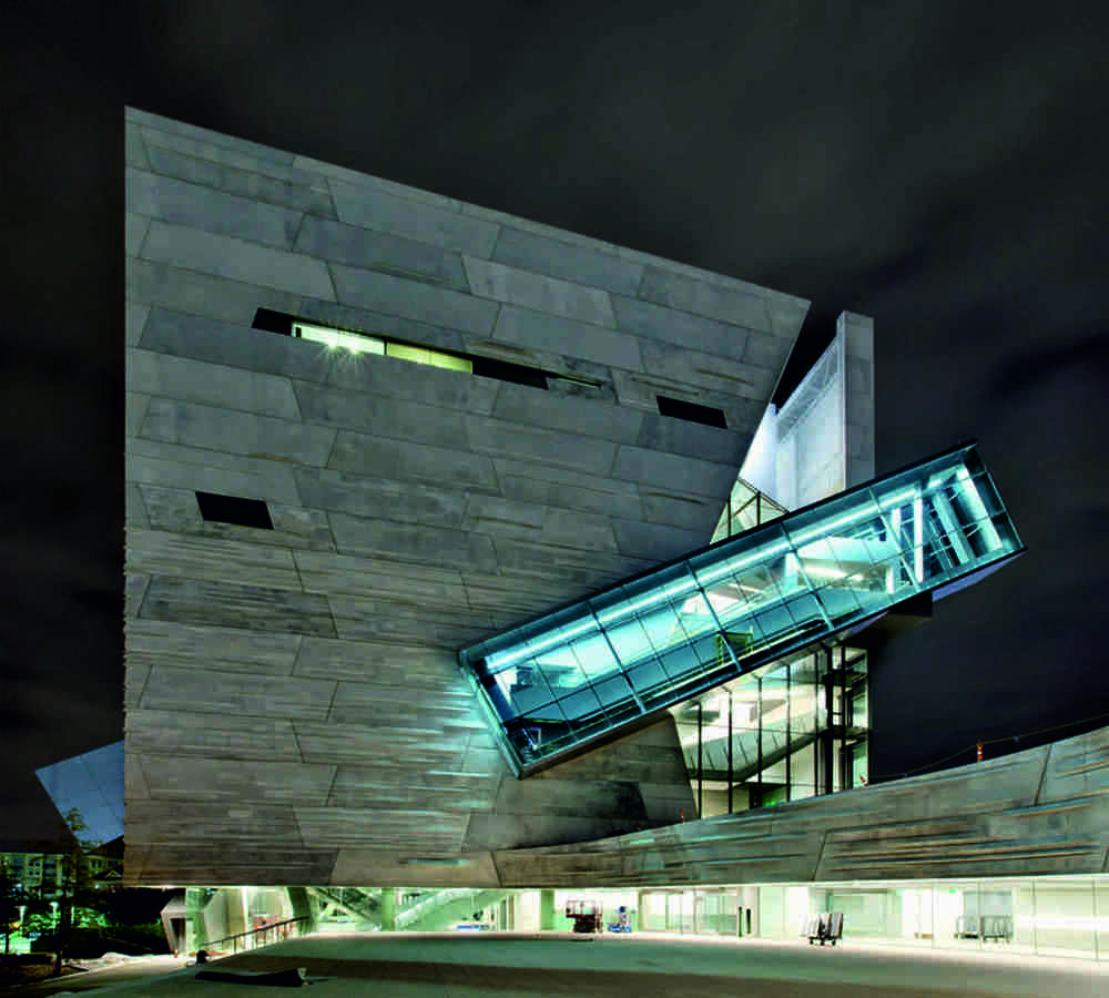 Fun with concrete: The Perot Museum of Science and Nature in Dallas is as striking as it is unconventional.