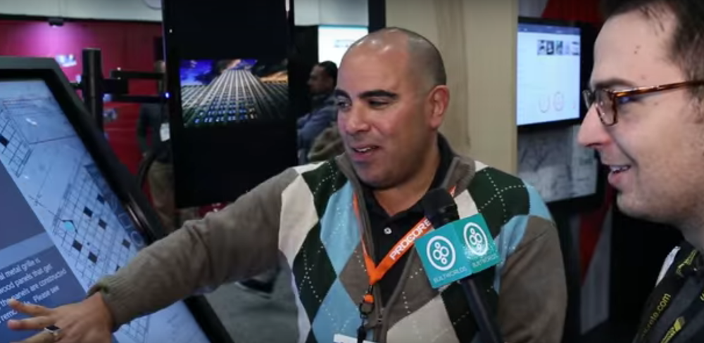 Procore's Bassem Hamdy talks with BW's Ian Manger.