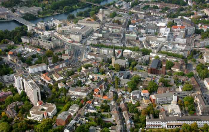 Mülheim on der Ruhr is a mid-size city of 170,000 that has shifted its focus from heavy industry to tech and trade.