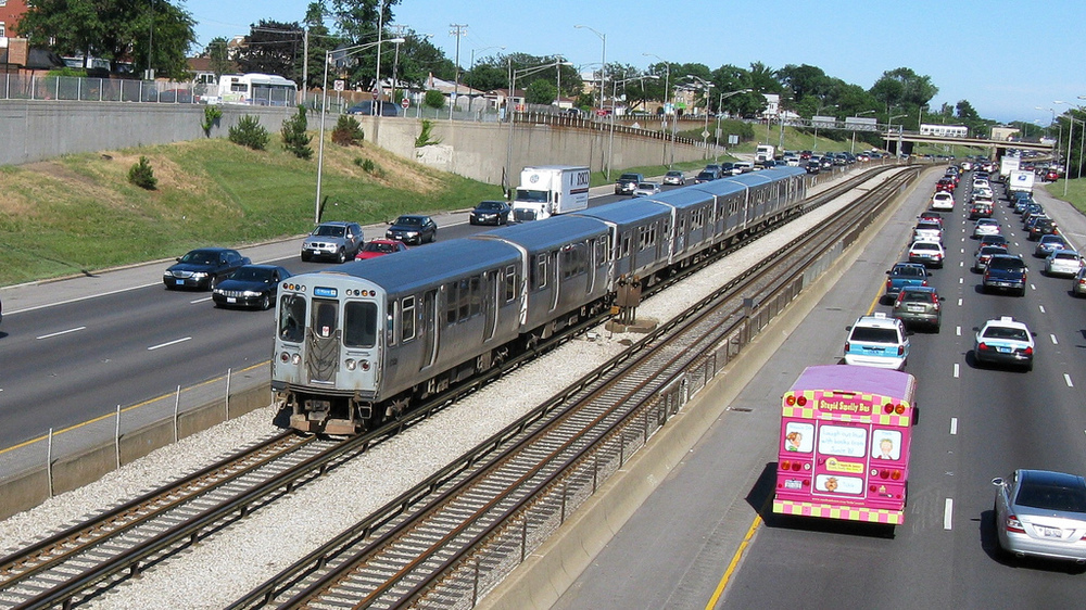 Congested & contested: It is still not clear which route the proposed express line would follow to O'Hare.