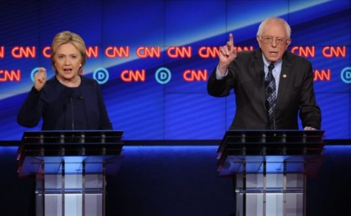 'Snyder's head!At their latest debate in Flint MI, the two battling Democratic hopefuls found common ground.