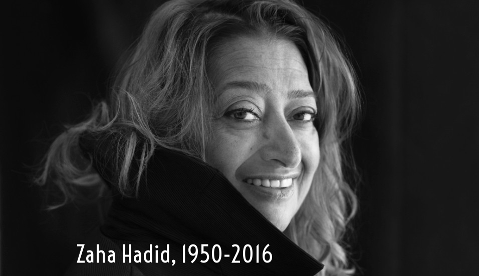 Tempestuous trailblazer: Hadid was a mathematician before studying architecture under Rem Koolhaas.