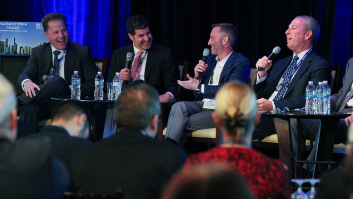 Joy of Real Estate: Buoyed by a strong economy, panels and attendees were mostly in good spirits re the market.