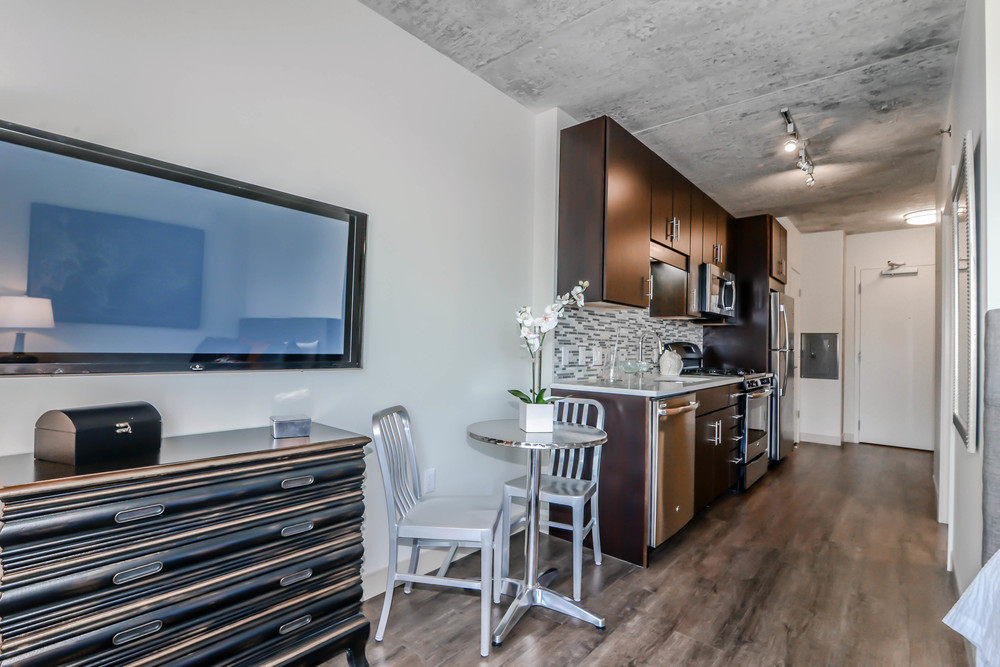 Micro-apartments arrived in Chicago last summer, first emerging in the ever-trendy West Loop area.