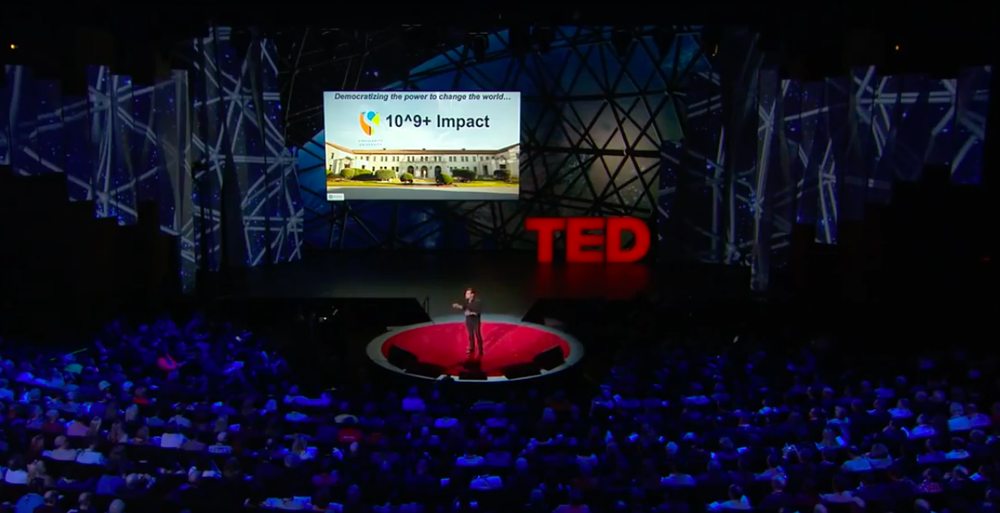 Technology, Entertainment, Design: Started in 1984, TED and TEDx Talks have captivated well over a billion people.