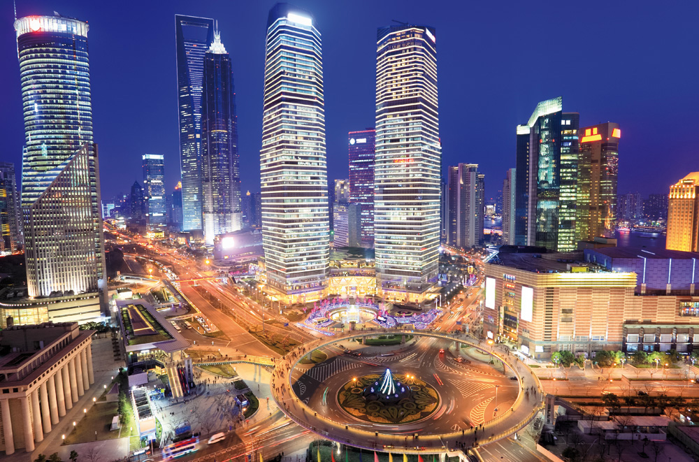 Global influencer: Shanghai construction is still booming, despite continuing concerns about overbuilding.