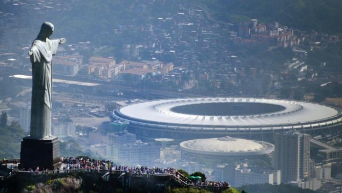 Divine intervention? That may well be the only way that Rio will be able to have all of its event venues ready in time.
