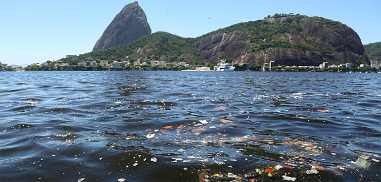 Hold your nose: Guanabara Bay, one of two bodies of water dedicated to canoeing, rowing, and other aquatic sports is rife with pathogens, despite a pledge by Brazilian government officials to cleanse it in time for the Olympics.