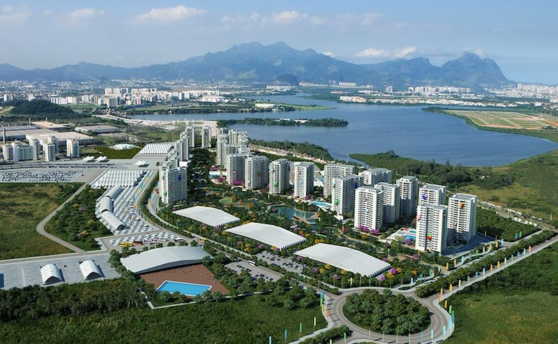Rio's Olympic Villageis the largest such venue in the Games'history.Its 31 towers house 17,000 athletes and coaches.