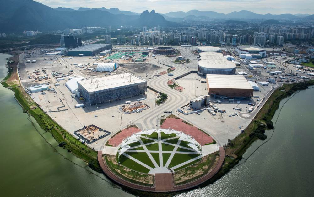 Let the Games begin? Home to nine venues, Barra Olympic Park will be the center of it all next month.(Photo: Rio 2016)