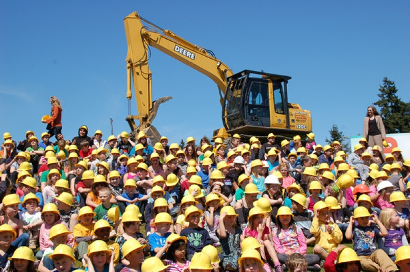 Hard Hat Nation: School children across the U.S. may soon see much more outreach from AEC industry recruiters.