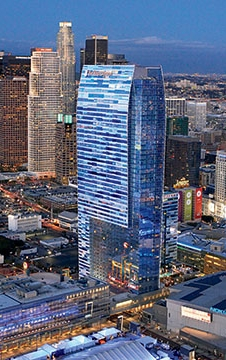 L.A. LIVE stood alone for years, but dozens more towers have followed.