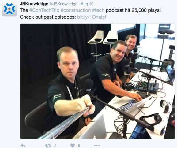 Listen to their AGC-IT podcast here. Look for JBK's annual tech use survey results next week.