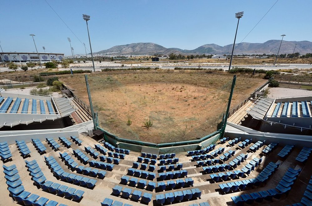 (2004 Summer Games, Athens) Olympic Softball Stadium  Milos Bicanski | Getty Images | 2014