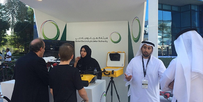 Drones for humanity. DEWA announced in March plans to deploy drones to boost infrastructure inspection, efficiency.