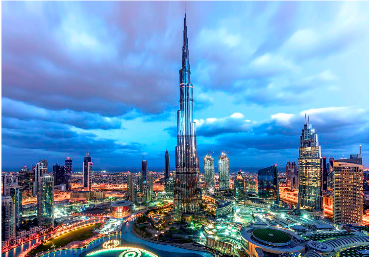 "Burj Khalifa in Dubai is now the world's tallest tower, but its multiple records ""would have remained pipe dreams had it not been for a series of innovations in building materials, technology, and techniques,"" according to the 2017 WEF report."